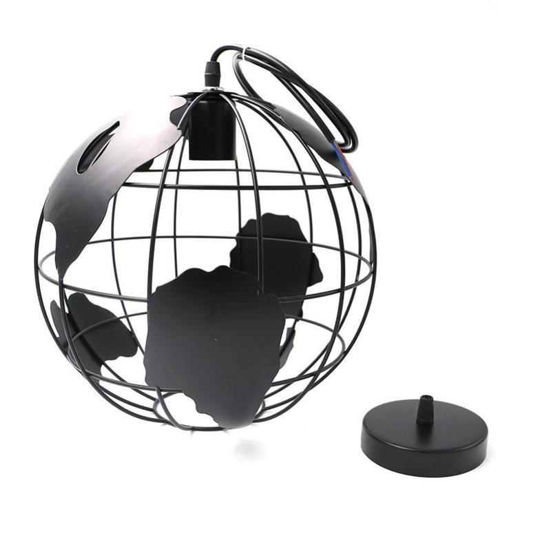 Globe Terrestre En Fer Forgé