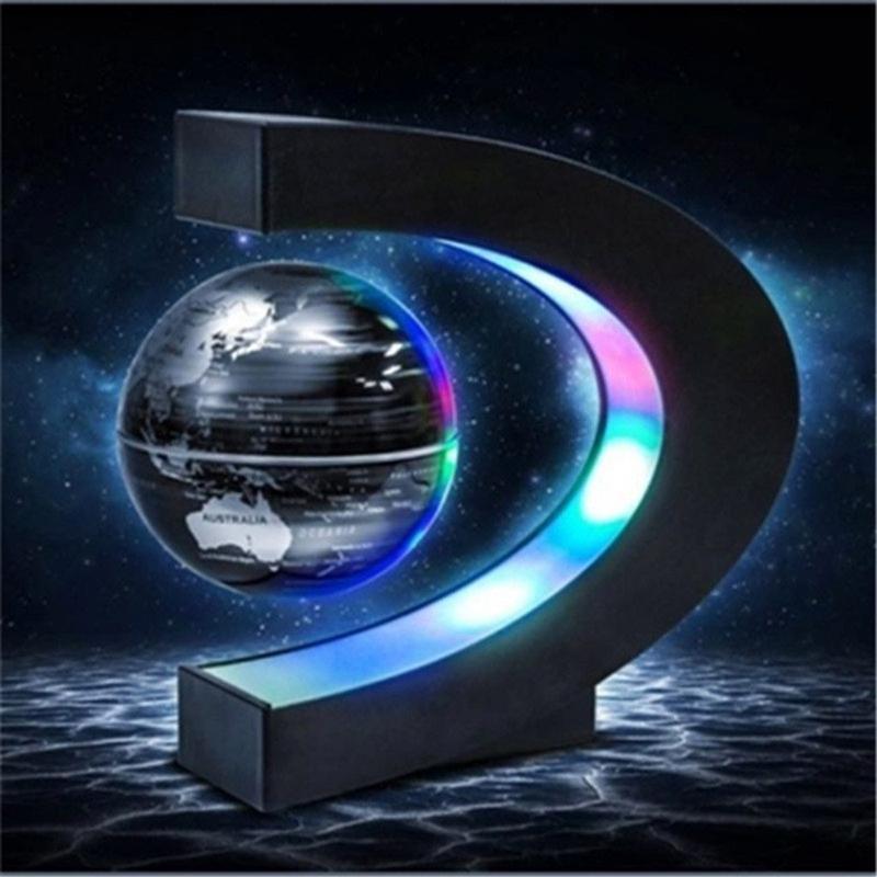 Globe Terrestre En Lévitation Magnétique