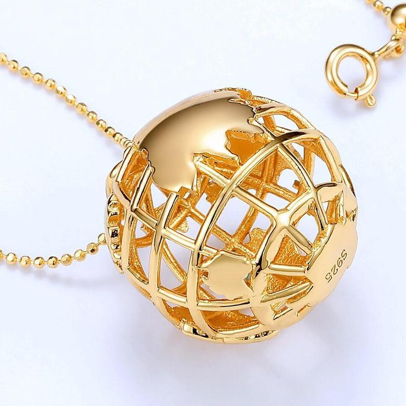 Globe Terrestre En Or