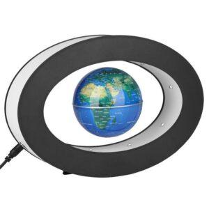 Globe Terrestre Flottant Lumineux