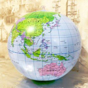 Globe Terrestre Gonflable 50 Cm