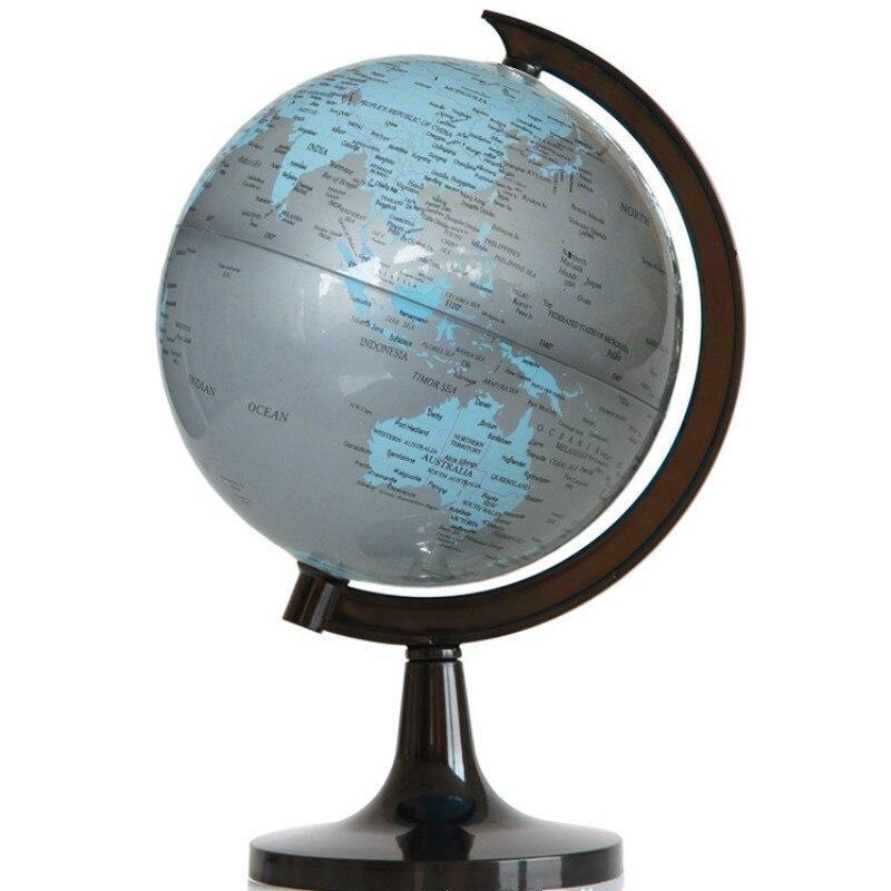 Globe Terrestre Gris