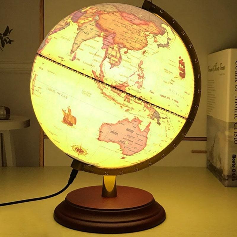 Globe Terrestre Lampe
