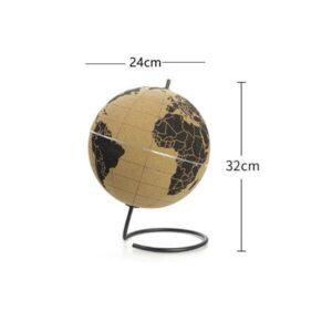 Globe Terrestre Liege Pas Cher