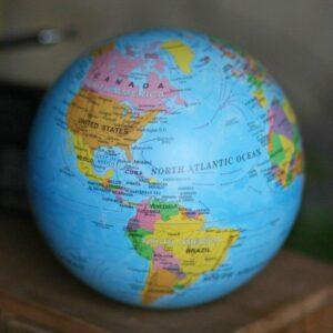 Globe Terrestre Lumineux Antique