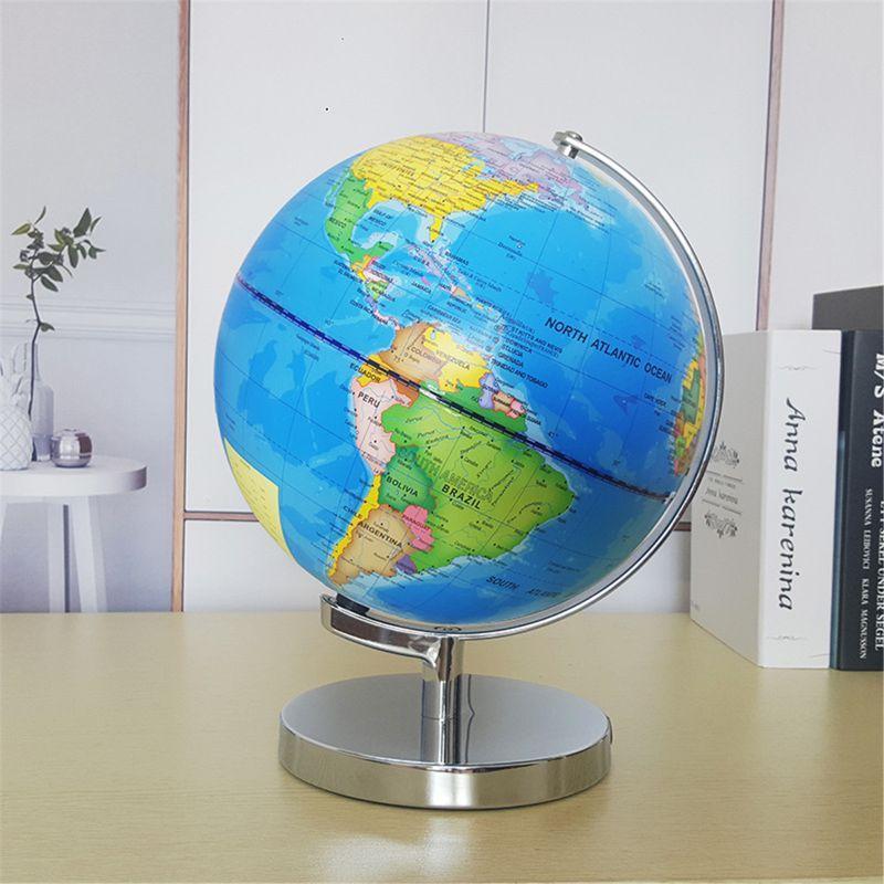 Globe Terrestre Lumineux Avec Constellation
