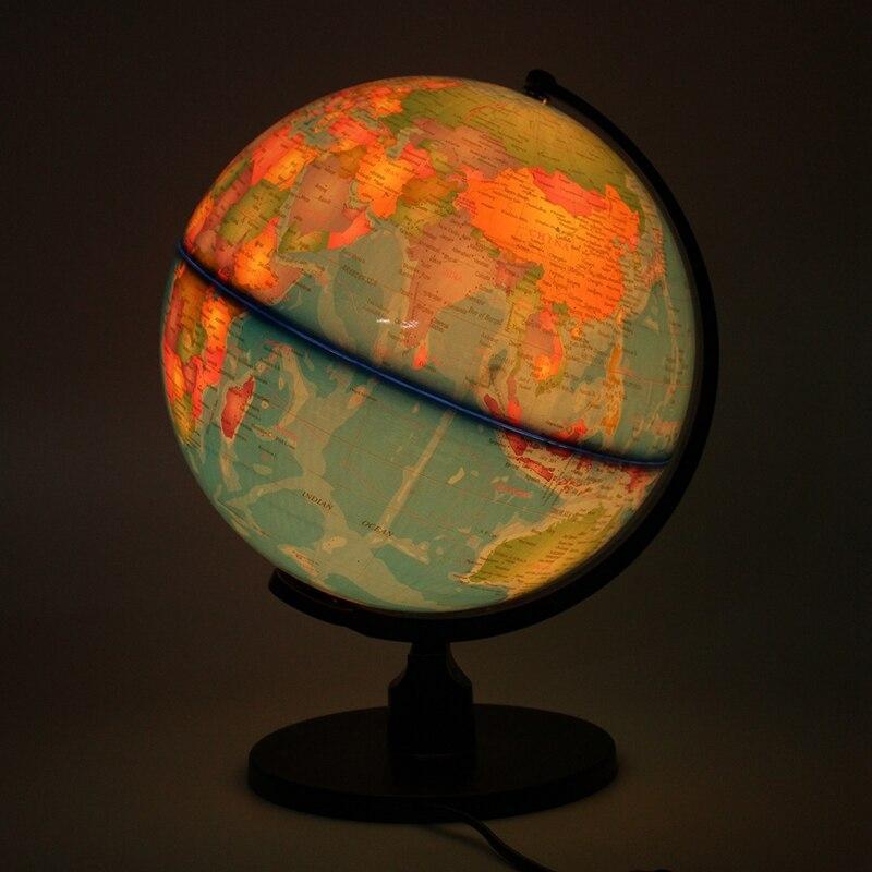 Globe Terrestre Lumineux Avec Loupe