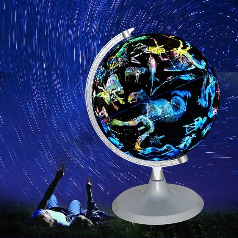 Globe Terrestre Lumineux Constellation