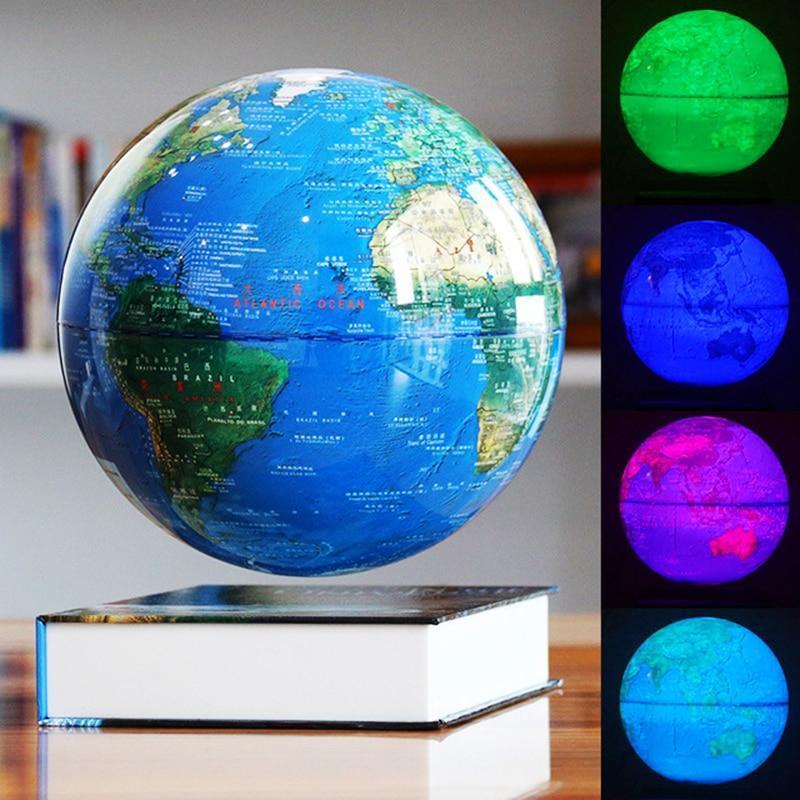 Globe Terrestre Lumineux Deco