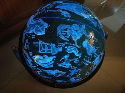 Globe Terrestre Lumineux Interactif