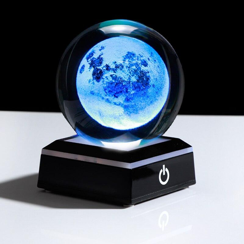 Globe Terrestre Lumineux Jour Et Nuit