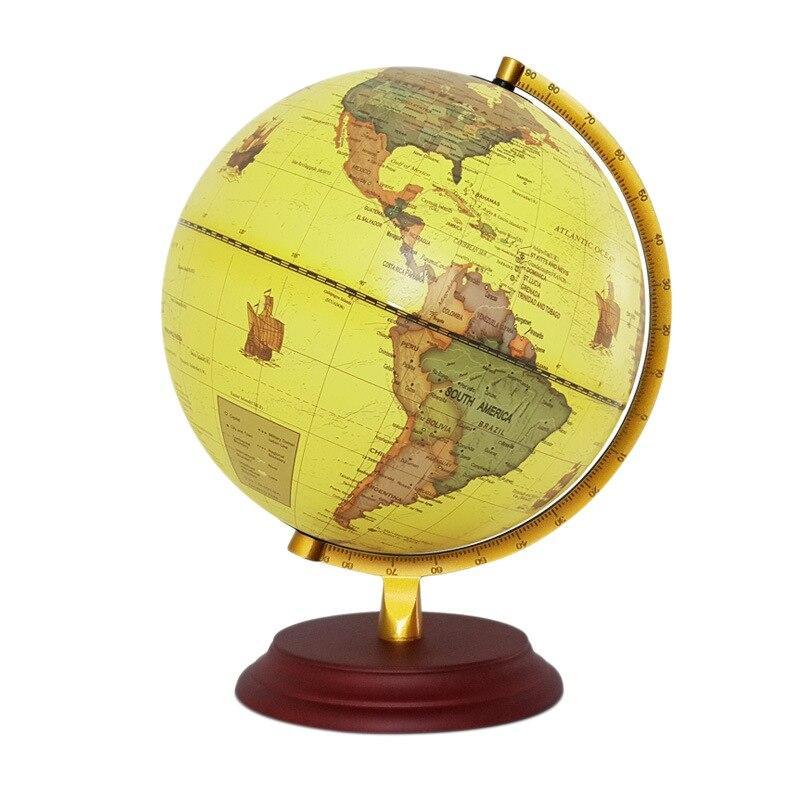 Globe Terrestre Lumineux Jour Nuit