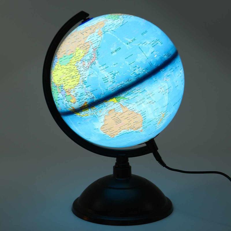 Globe Terrestre Lumineux Led