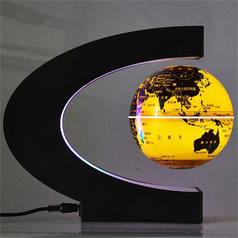 Globe Terrestre Lumineux Levitation