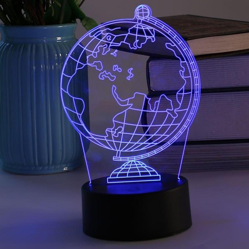 Globe Terrestre Lumineux Pas Cher