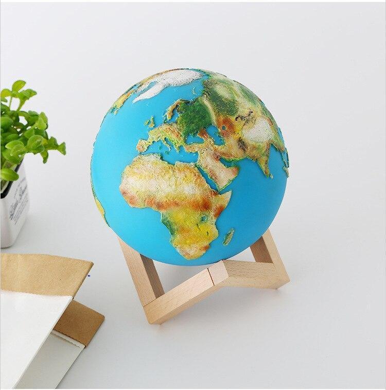 Globe Terrestre Lumineux Sans Fil