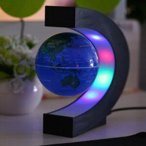 Globe Terrestre Magnetique Lumineux