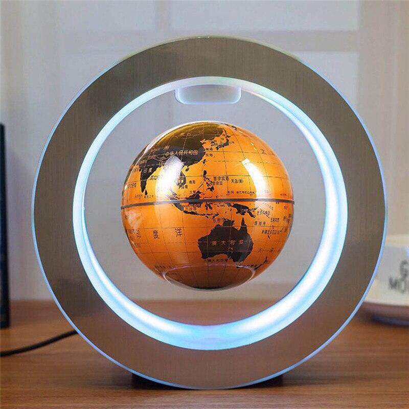 Globe Terrestre Magnétique Tournant
