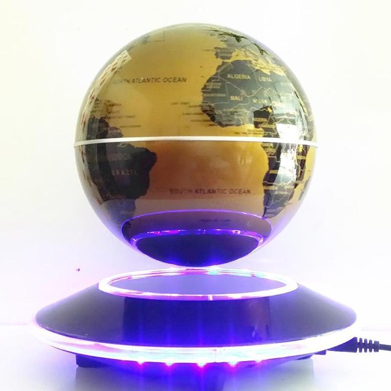 Globe Terrestre Magnétique Volant Led