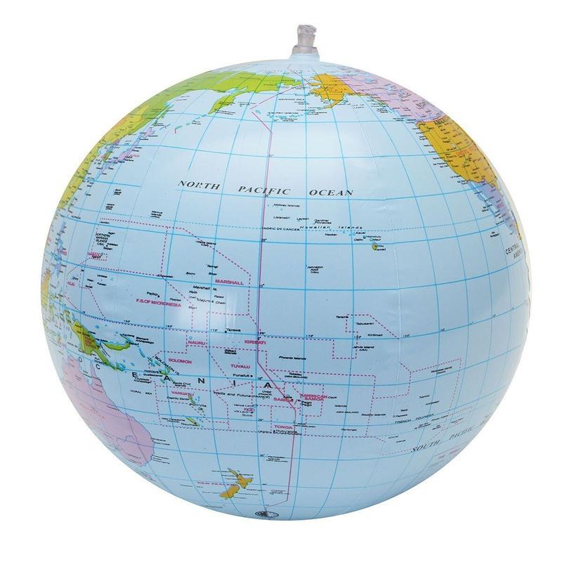 Globe Terrestre Non Lumineux 30 Cm