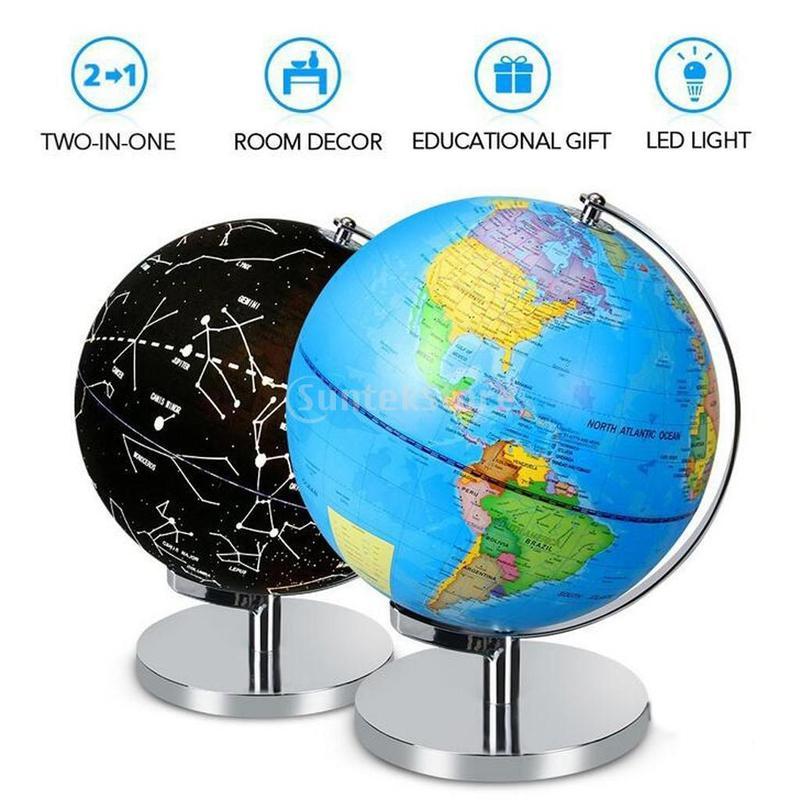 Globe Terrestre Nuit Et Jour