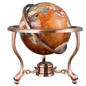 Globe Terrestre Orange