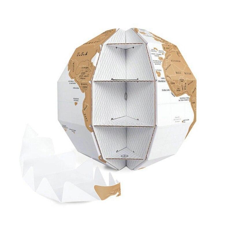 Globe Terrestre Papier Maché