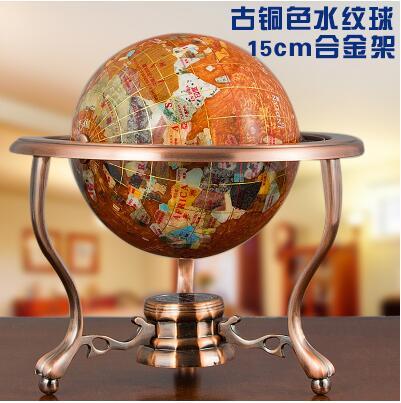 Globe Terrestre Pierre Précieuse