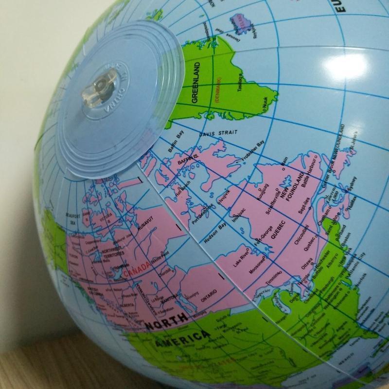 Globe Terrestre Planisphère