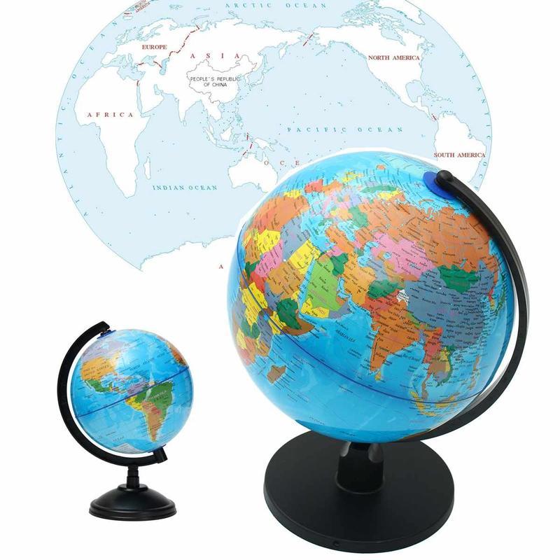 Globe Terrestre Plastique