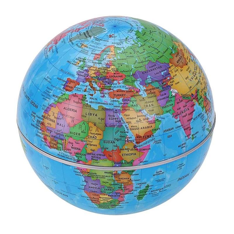 Globe Terrestre Rotatif Solaire