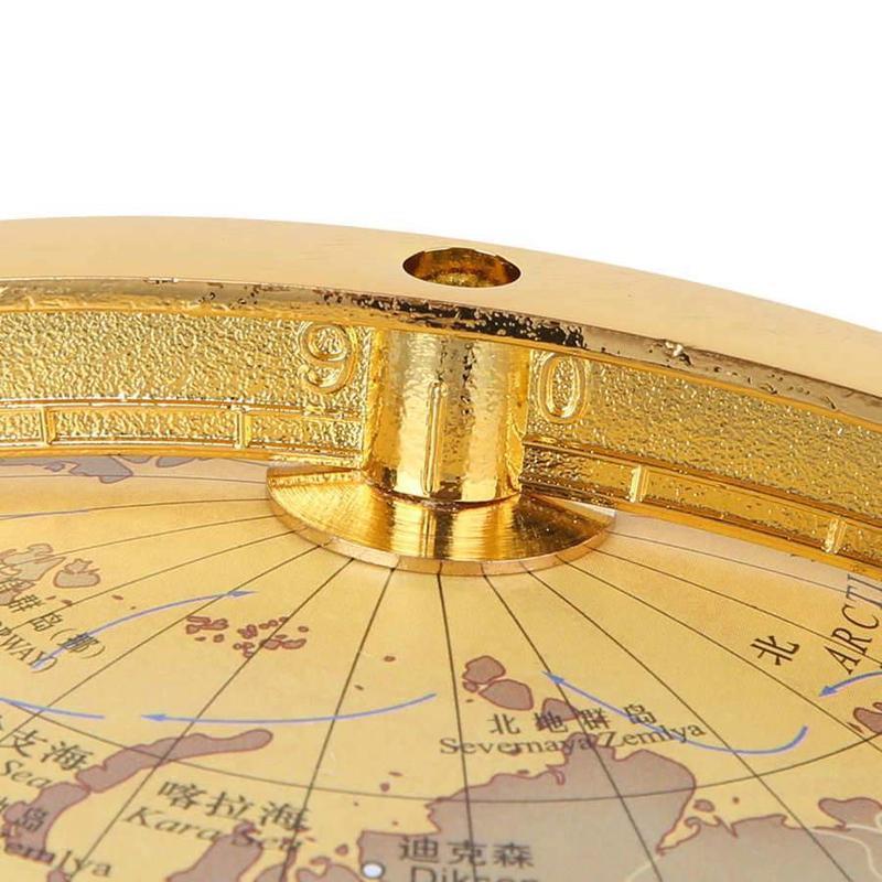 Globe Terrestre Sur Pied Ancien