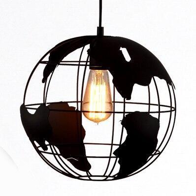 Globe Terrestre Suspendu