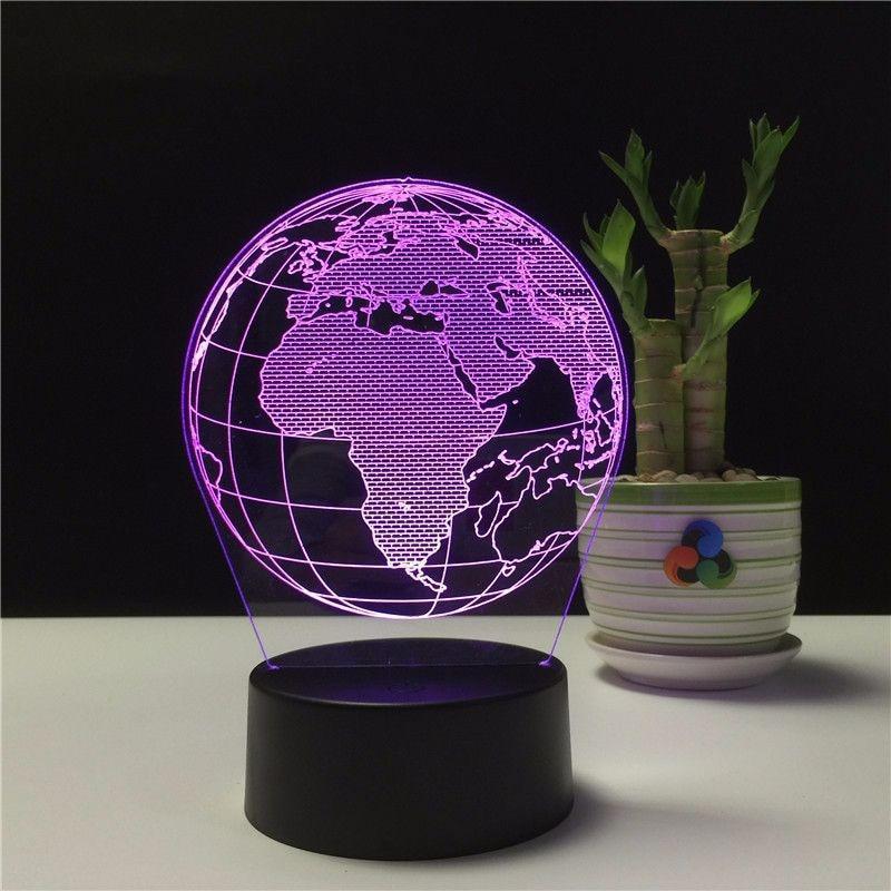 Globe Terrestre Veilleuse