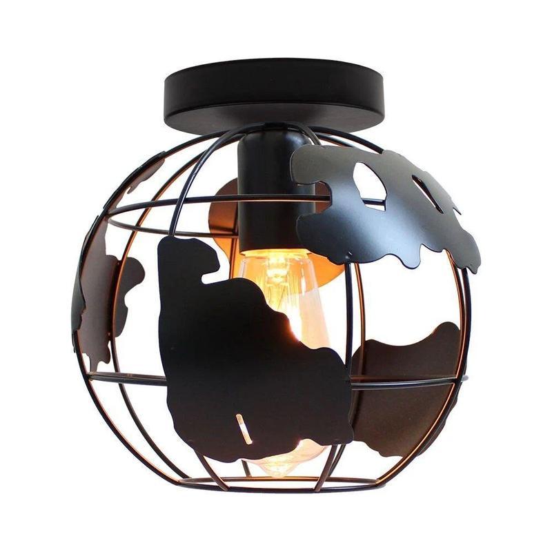 Suspension Luminaire Globe Terrestre
